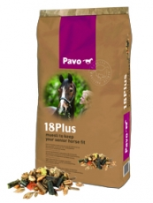 Pavo 18Plus - Keeping your senior horse fit and healthy