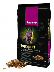 Pavo TopSport - The muesli topping for sport horses