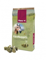 Pavo FibreNuggets - The best alternative for roughage, suitable for all horses